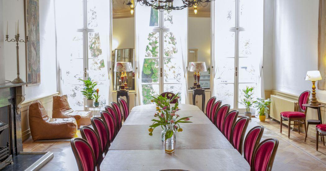 Menucaart private dining amsterdam