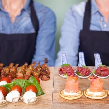 Luxe borrelhapjes catering Amsterdam