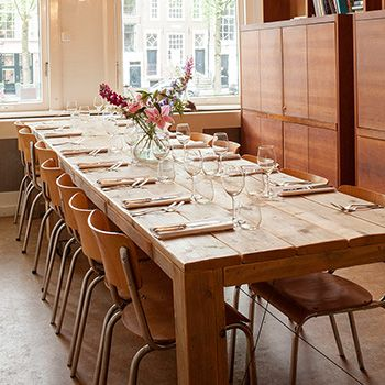 Private dining Amsterdam